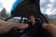 Poser im Auto