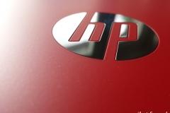 Pavilion 11 x360: Deckel, verchromtes HP Logo