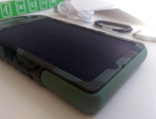 Levin™ Solstar Giant, Solar Panel Ladegerät, 12000mAh Akku