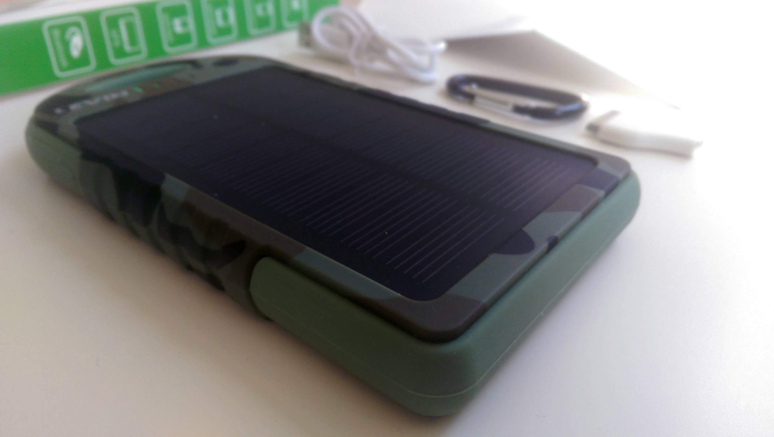 Levin™ Solstar Giant, Solar Panel Ladegerät, 12000mAh