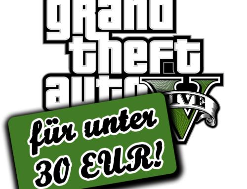 Spieleschnäppchen: GTA 5 für PC unter 30 EUR