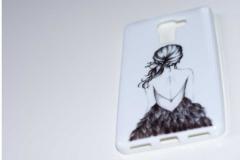 Silikon-Schutz-Hülle-Huawei-Honor-7-Mädchen-Kleid_front