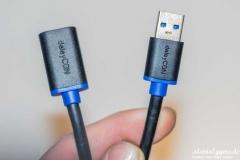 deleyCON-USB-3.0-Verlängerungskabel-Kabelanschlüße