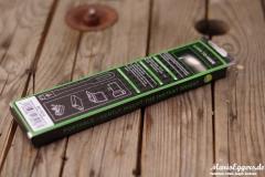 esorio® Premium LED Leselampe USB-Box-back