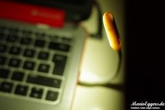 esorio® Premium LED Leselampe USB-inbetrieb-nah-Birne