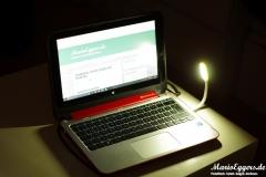 esorio® Premium LED Leselampe USB-inbetrieb-weit