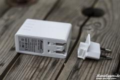 Foxnovo 4-Port-USB-Ladegerät - Adapter