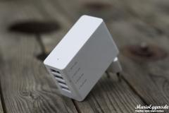 Foxnovo 4-Port-USB-Ladegerät - Back