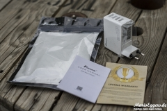 Foxnovo 4-Port-USB-Ladegerät - Lieferumfang