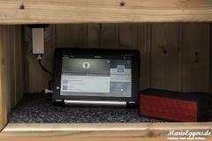 Foxnovo 4-Port-USB-Ladegerät - im Einsatz2