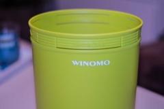 WINOMO-Papierkorb-6.5-Liter---Grün-Schriftzug