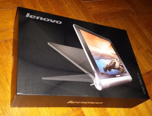 Lenovo – IdeaPad Yoga Tablet (8 Zoll HD)