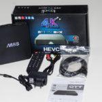 Bqeel M8S 4K OTT TVBox - Kodi Mediacenter